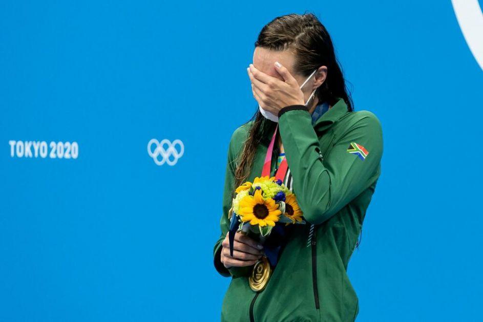 UZELA ZLATO I OBORILA REKOD: Tatjana Šenmejker šampionka OI u Tokiju na 200 metara prsno