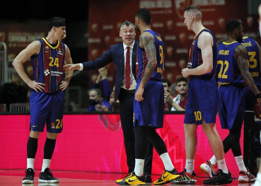 UZIMAM SVAKU POBEDU U BEOGRADU: Jasikevičijus i pored trijumfa ima zamerke na igru Barselone