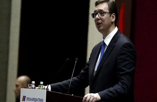 (UZIVO) Hteli su moju glavu i ja im izlazim na crtu Vucic prihvatio kandidaturu za predsednika Srbije (FOTO)