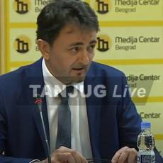 Konferencija za medije generalnog direktora Telekoma: Svedoci smo učestalih napada, Telekom je ponos države (VIDEO)