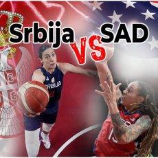 SRBIJA ĆE SE BORITI ZA BRONZU: Amerikanke prejake za naše košarkašice