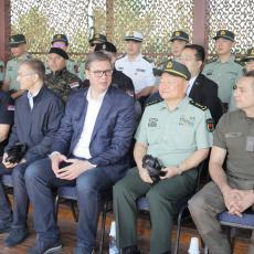 Vučić posle vežbe u Nikincima: Videli ste snagu srpske policije, NAŠ NAROD NIKO NEĆE SMETI DA DIRA (FOTO)