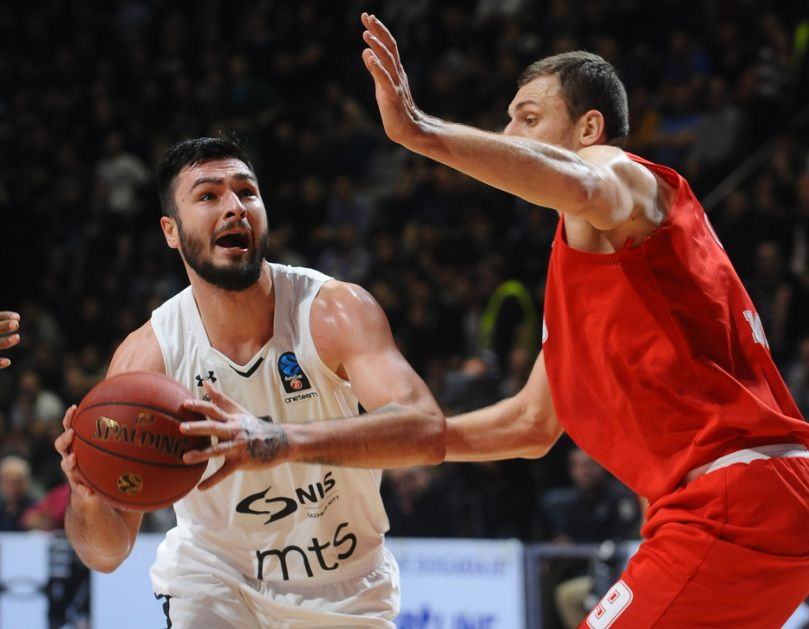 Partizan vratio brejk, Monako sačuvao prednost