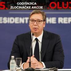 OBELEŽENA GODIŠNJICA OLUJE U RAČI! Vučić: Srbija NEĆE ĆUTATI, mir i sloboda da - PONIŽENJE NIKADA (VIDEO)
