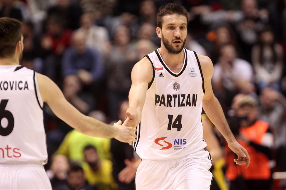UŽIVO: Partizan - Dunav