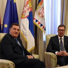 EVO ŠTA JE DOGOVORENO NAKON SASTANKA VUČIĆA I DODIKA: Srbija će pomagati Srbima ma gde bili!