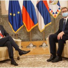 Završen sastanak Vučića i Pahora: Srbija ima jasan stav po pitanju Kosova - za tango je potrebno dvoje (VIDEO/FOTO)
