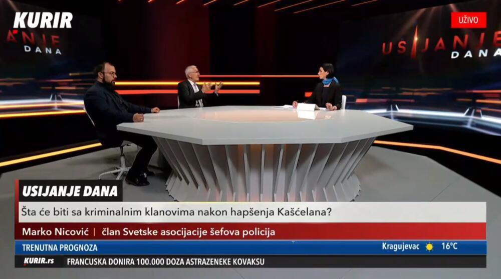 UŽIVO! ŠTA ĆE BITI SA KAVAČKIM KLANOM: U Usijanju Dana govore Marko Nicović i Darko Obradović