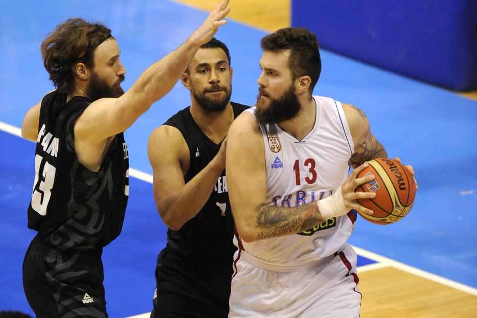 UŽIVO: Srbija - Novi Zeland, orlovi bez DVOJICE