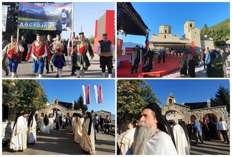 USTOLIČEN EPISKOP METODIJE U ĐURĐEVIM STUPOVIMA: Patrijarh Porfirije održao govor, prisustvovale hiljade vernika FOTO, VIDEO