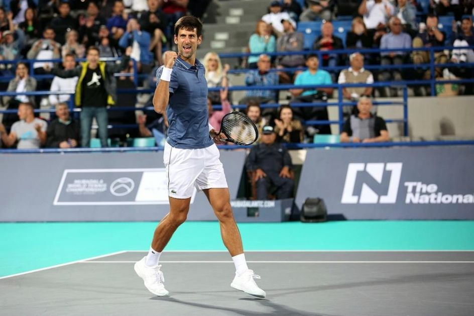 ĐOKOVIĆU NE PRIJA EGZIBICIJA: Novak poražen od Cicipasa u polufinalu turnira u Abu Dabiju