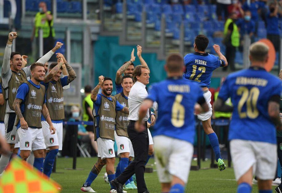 UŽIVO, VIDEO: Italija - Austrija (21:00), Azuri žele da nastave sa rekordima, Austrijanci debitanti u osmini finala!