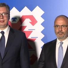 VUČIĆ NA OBELEŽAVANJU DANA EVROPE: Cilj Srbije je punopravno članstvo u EU i kompromisno rešenje za KiM! (FOTO/VIDEO)