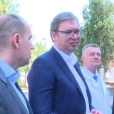 Vučić u Loznici: Rekonstruisana Opšta bolnica, a u novoj fabrici još 1.500 radnih mesta (VIDEO)