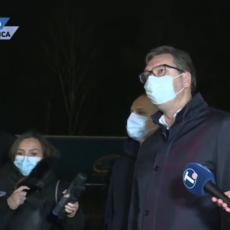 Vučić obišao radove na izgradnji nove kovid bolnice: Za mesec dana nabavka MILION DOZA vakcine (FOTO/VIDEO)