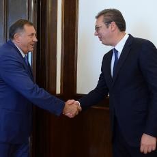 Vučić razgovarao sa Dodikom: Na svako kršenje Dejtonskog sporazuma Srbija će morati da reaguje: (VIDEO)