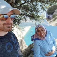 (UZNEMIRUJUĆE) ISPLIVAO HOROR SNIMAK: Poslednji trenuci života trudne žene koju je muž gurnuo sa litice (VIDEO)
