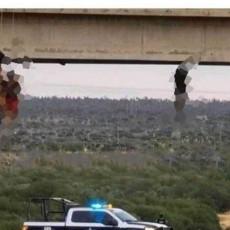(UZNEMIRUJUĆI VIDEO) BRUTALNI RAT NARKO-KARTELA SE NASTAVLJA: El Čapovi borci muče, sakate i gole vešaju sa mosta svoje neprijatelje!