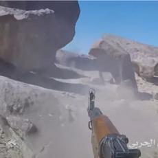 (UZNEMIRUJUĆI VIDEO) KAO U KANTER STRAJKU Borac Huta GoPro kamerom snimio napad na saudijske vojnike