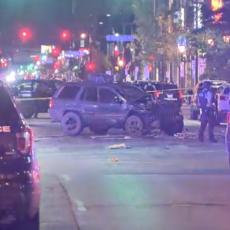 (UZNEMIRUJUĆI VIDEO) Kolima se zaleteo u demonstrante i ubio ženu: Kad su ga uhvatili nastao je haos