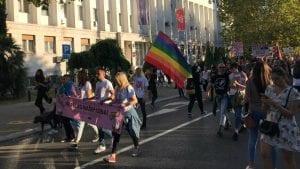Učesnici Povorke ponosa u Podgorici poručili: Ne preko naših leđa