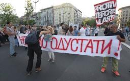 Održan 36. protest Protiv diktature u Beogradu