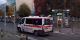 Udes u centru BG, teško povređen motociklista
