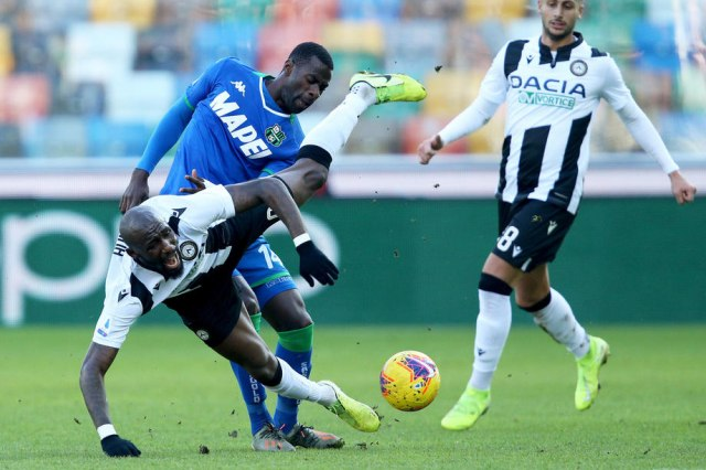 Udineze bolji od Sasuola