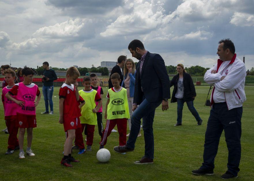 Udovičić obišao klubove u Apatinu, Odžacima i Baču