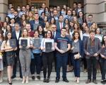 Udovičić posetio jug Srbije - stipendije za 214 studenta Niškog univerziteta