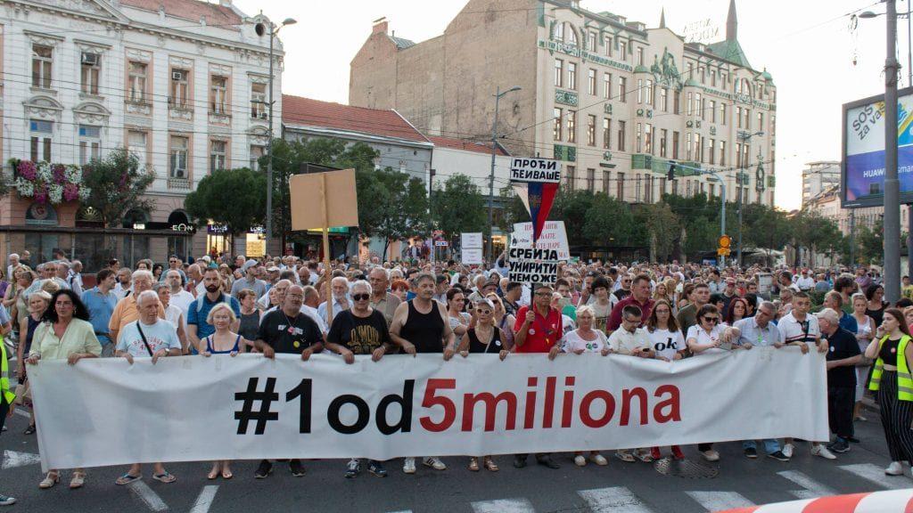 Udruženje 1 od 5 miliona: Vučićeve izjave ugrožavaju bezbednost novinara N1