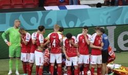 Uefa: Utakmica Danske i Finske suspendovana