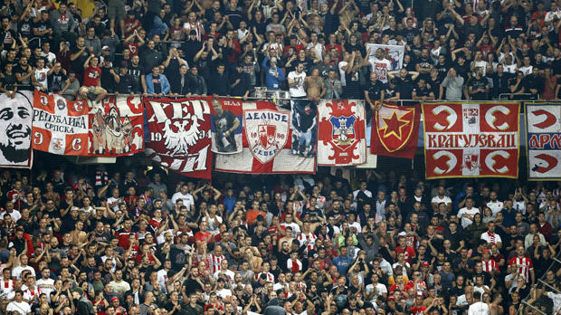 Uefa kaznila Zvezdu – bez navijača na gostovanju Totenhemu