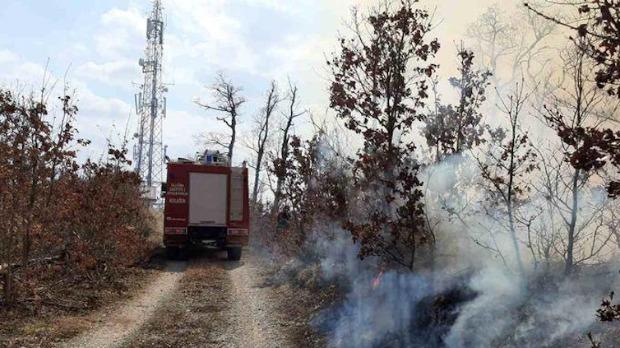 Ugašen požar kod manastira Morača