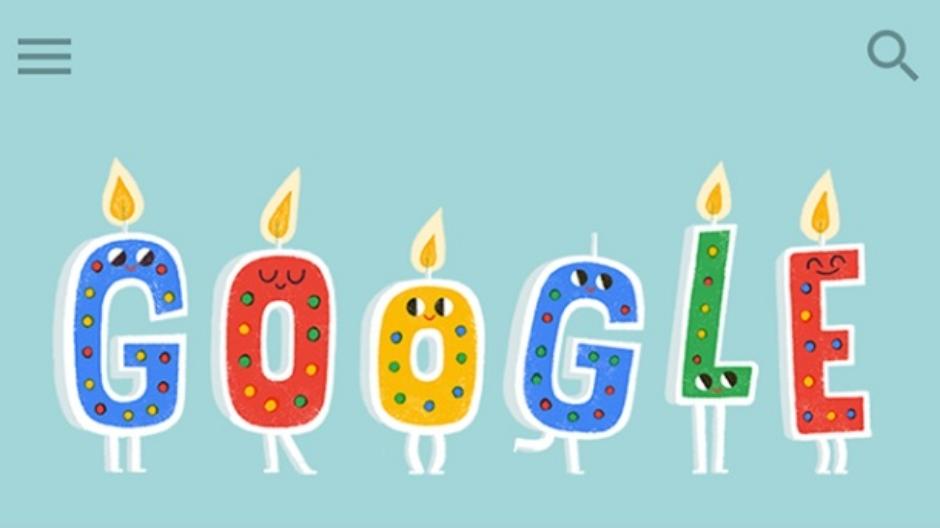 google rođendan Google Doodle rodjendan ugasite sveće | Mondo Portal google rođendan