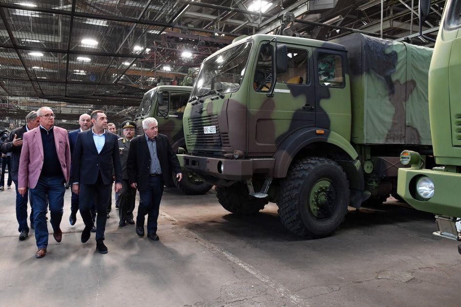 Ugovor sa FAP-om o modernizaciji borbenog oklopnog vozila Vojske Srbije