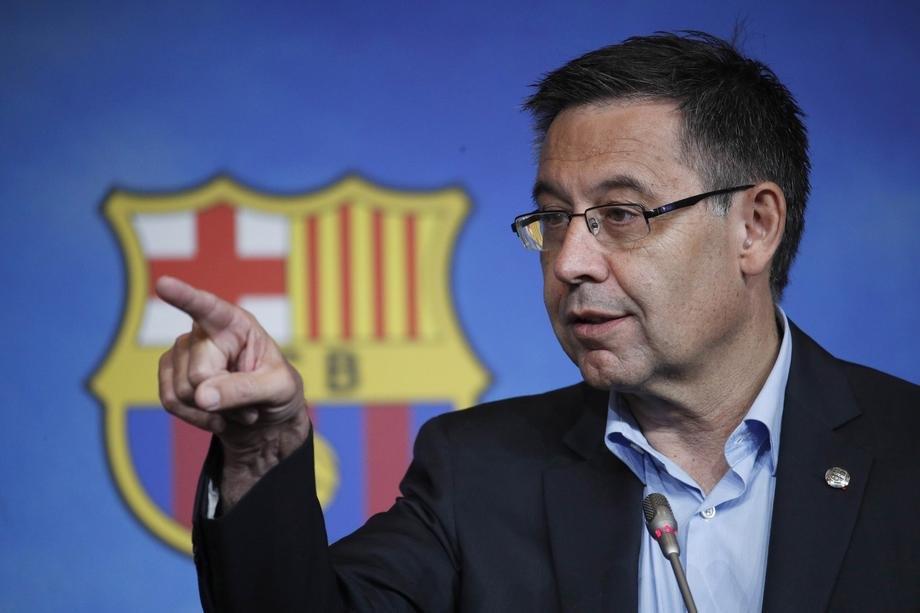 Uhapšen bivši predsednik Barselone Žozep Marija Bartomeu