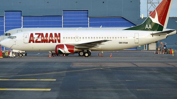 Uhapšen muškarac koji se popeo na krilo aviona u Nigeriji