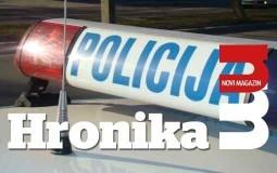 Uhapšen vozač automobila zbog izazvanja saobraćajne nesreće u Resavskoj ulici