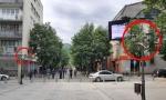 Uhapšeni huligani: Polomili i bacili 13 zastava u Bjelom Polju