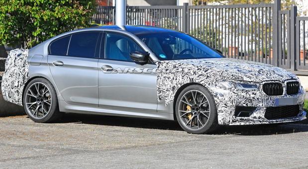 Uhvaćen BMW M5 CS