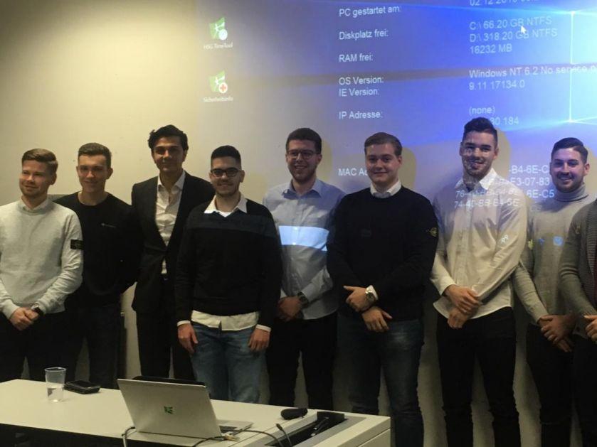 Ujedinjenje u Švajcarskoj: Studenti sa Ex Yu prostora se sreli sa Edinom Dacićem