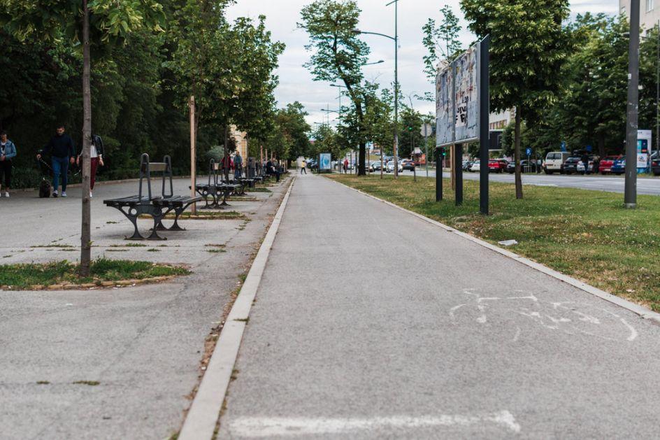 Uklanjanje nedostataka na biciklističkim stazama u Novom Sadu