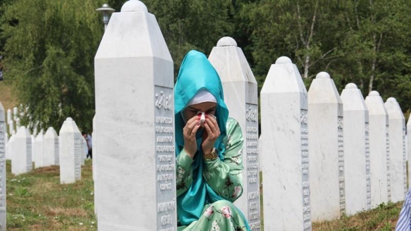 Uklonjeni plakati sa likom Ratka Mladića u Srebrenici