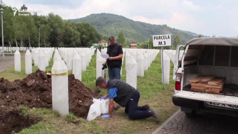 Potočari: Ukop posmrtnih ostataka pronalaženih u više grobnica