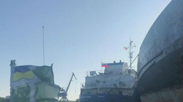 Ukrajinci zaplenili ruski tanker, posada oslobođena