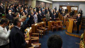 Umalo tuča u crnogorskom parlamentu zbog Belivuka