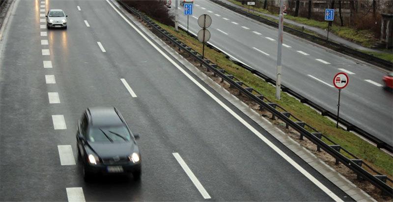 Umeren saobraćaj, dobra prohodnost
