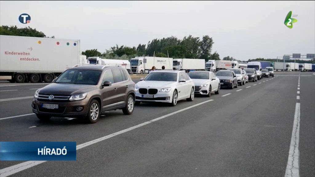 Umeren saobraćaj, kamioni na Horgošu čekaju pet sati