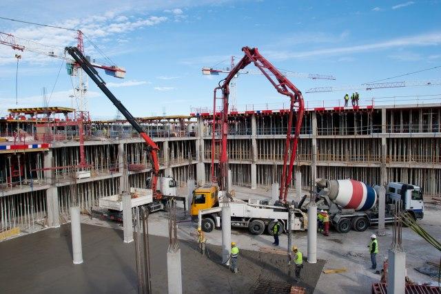 Umesto fabrike stanovi: Na Novom Beogradu zida se novi stambeno-poslovni kompleks